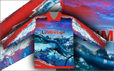 Fishing Shirts. LJMDesign Provides Quality Printing, Signs and Websites. Cairns and Townsville North Queensland.