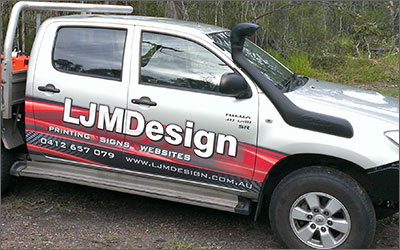 Welcome. LJMDesign Provides Quality Printing, Signs and Websites. Cairns and Townsville North Queensland.